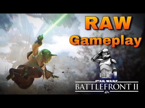 RAW: Capital Supremacy Kashyyyk Gameplay: Star Wars Battlefront 2 EA