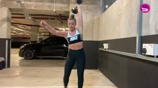 16Min Dumbbell Workout | Mikki Austin Take Over | Solo Sessions
