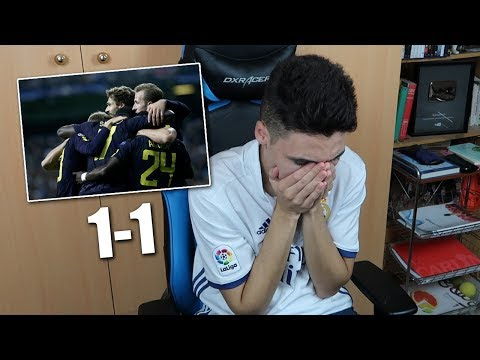 REACCIONES DE UN HINCHA Real Madrid vs tottenham 1-1