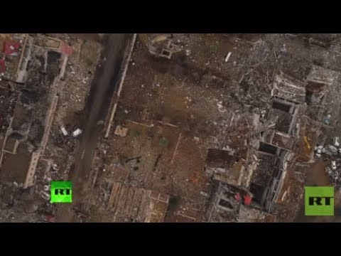 RAW: Drone footage reveals Mosul devastation