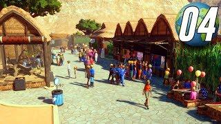 Planet Zoo Franchise - Part 4 - Building a Food Court!