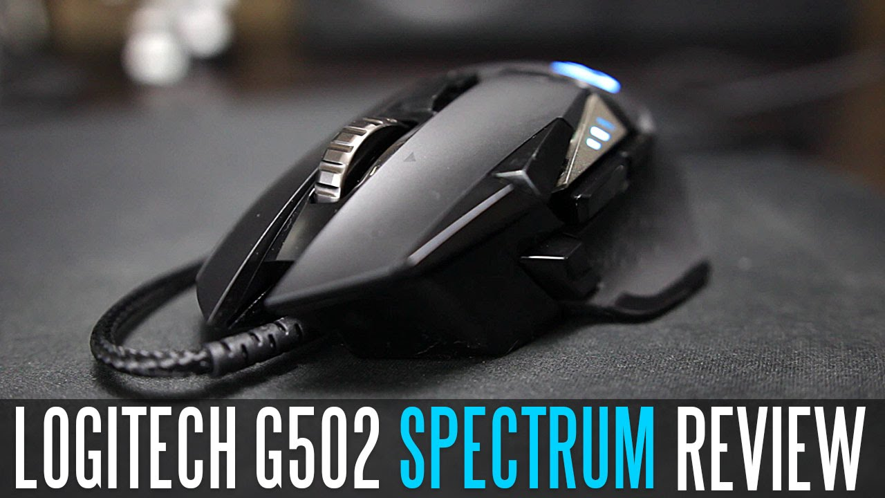 Logitech G502 Proteus Spectrum RGB Gaming Mouse - Full Review