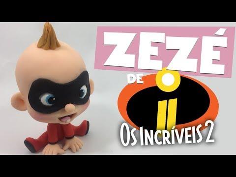 ZEZÉ (OS INCRÍVEIS 2) estilo TOY- Sah Passa o passo