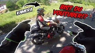 Italienischen YouTuber getroffen!? - KTM Duke 125  - DriftVlog