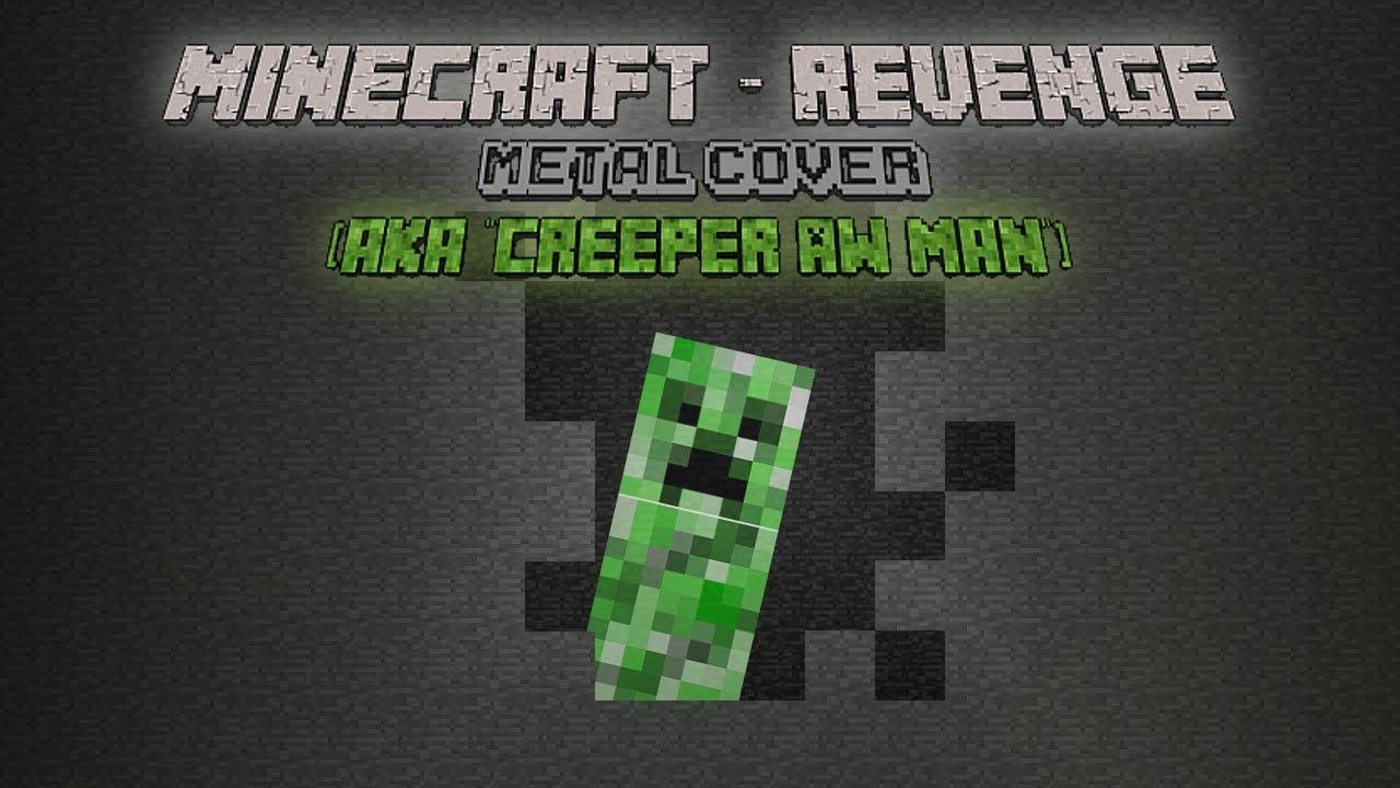 Minecraft - Revenge (Metal / Rock Cover) (Lyric Video)