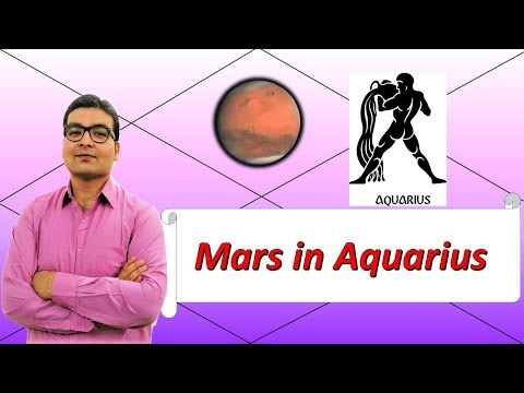 vedic astrology mars in aquarius