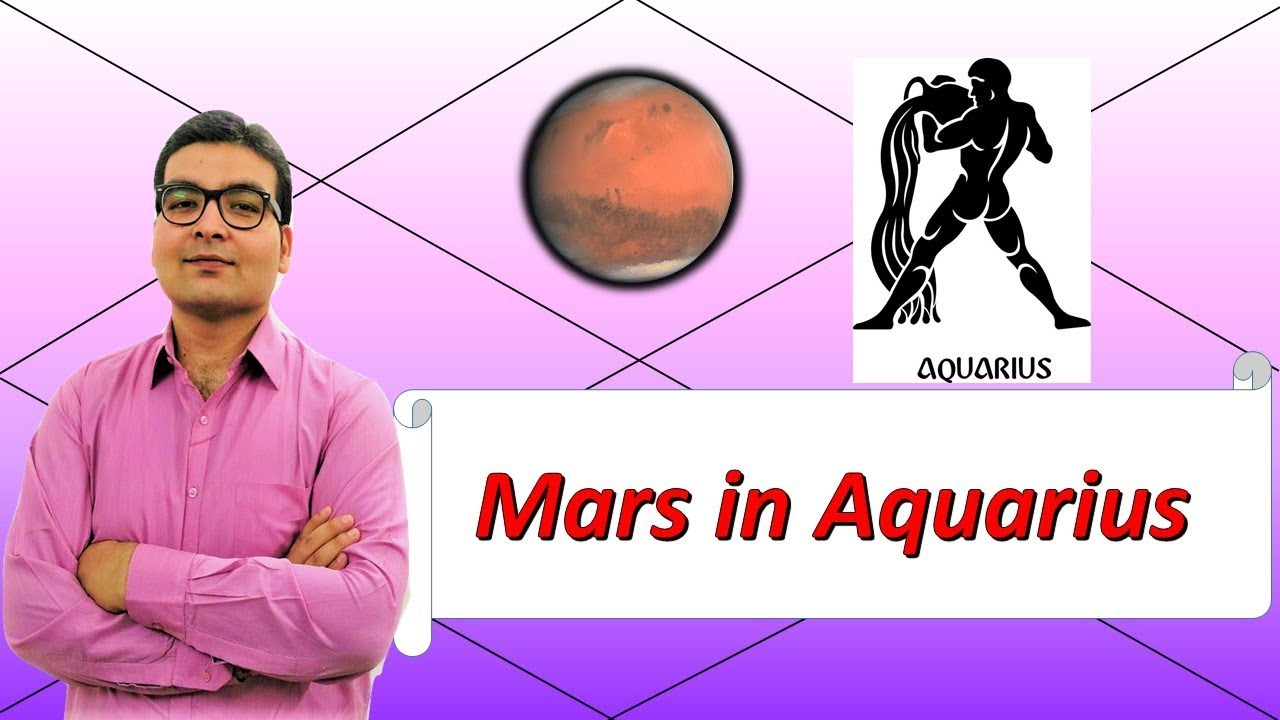 mars in aquarius vedic astrology