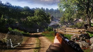 UNREAL BEAUTIFUL GAME ABOUT WW2 ! FPS on PC Enemy Front