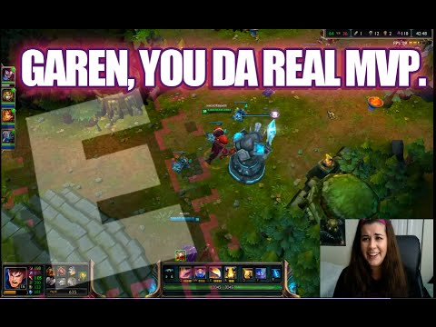 Garen: He's cool. (League of Legends)