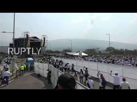 Colombia: 'Venezuelan Aid Live' concert kicks off at border Mp3