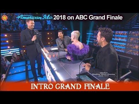American Idol 2018 Grand Finale Judges Intro  Katy Perry Lionel Luke American Idol Finale