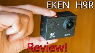 Eken H9R Unboxing & Full Review | Best 4K Action Cam for Rs 3,500