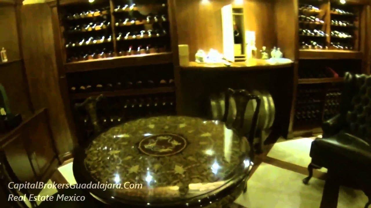 Cava de vinos de casa de lujo en guadalajara youtube - Cavas de vinos para casa ...