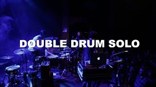 DOUBLE DRUM SOLO (ft. GOOD OLD WAR) | DRUMMER ON TOUR VLOG