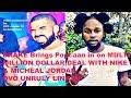 Drake Popcaan Micheal Jordan, Nike OVO Multi millions deal OVO UNRULY