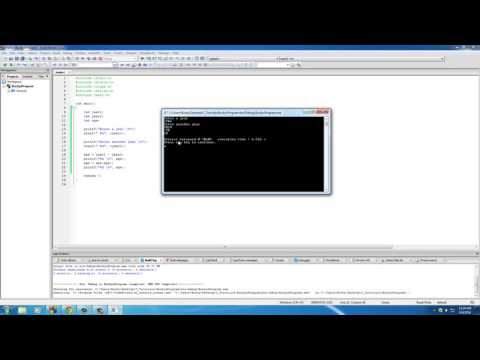 C Programming Tutorial   37   Absolute Value with abs HD