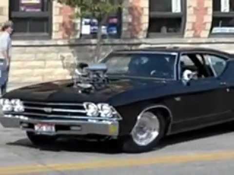 Blown 1969 Chevelle Sandpoint Idaho Ignitors Car Show Sept ...