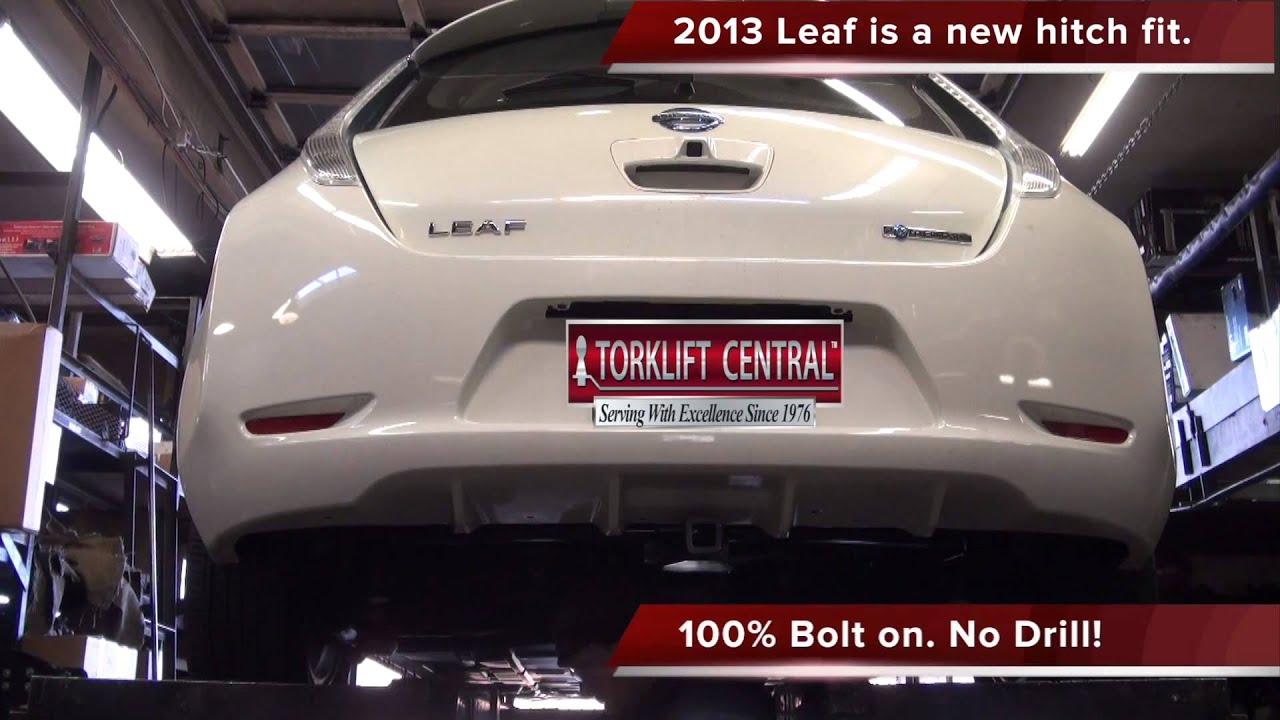 2013 2018 Nissan Leaf Hidden Ecohitch 174 Trailer Hitch