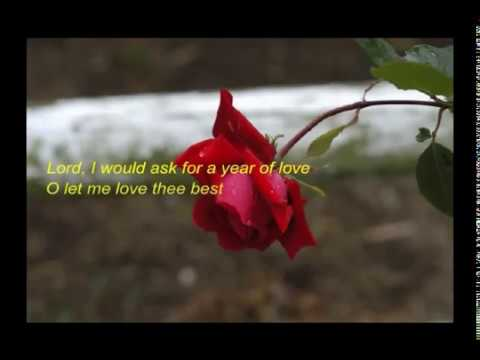 A Prayer for the New Year Prayer - YouTube