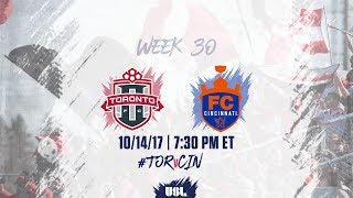 Toronto FC USL vs FC Cincinnati full match