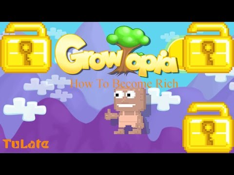 how to get rich fast in growtopia