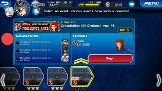 [KHUx Event] New XIII Event Challenge Axel - Organization XIII Challenge Axel 8/13
