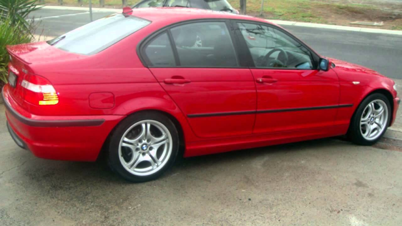 2004 BMW 318I E46 MY2004 Sport Red 5 Speed Manual Sedan ...