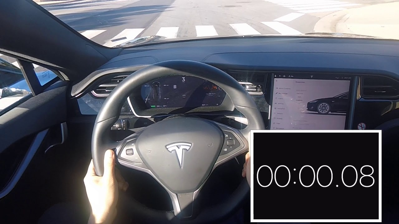 Tesla Model 75d 0 60 In 38 Seconds Non Performance Version
