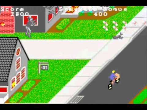 paperboy gba