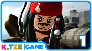 Lego Fluch der Karibik auf Deutsch 🌊 Der Film als Videospiel | Part 1.