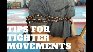 Filipino Martial Arts | Tips for Tighter Movements | Eskrima Arnis Kali
