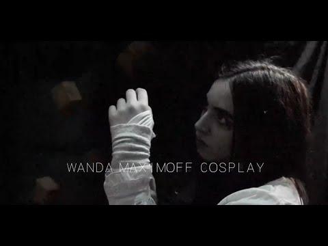 Wanda Maximoff cosplay (The Winter Soldier post credits scene)