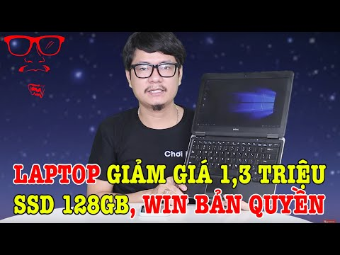 Laptop GIÁ RẺ GIẢM SỐC 1,3 TRIỆU Có SSD 128GB Phù Hợp Cho Sinh Viên Học Tập - DELL LATITUDE E7240