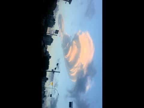 괴물 구름 - 미확인 물체 - 제주시