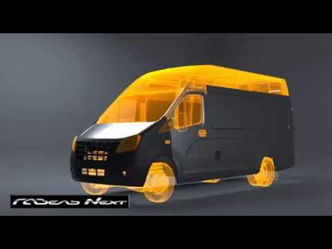 Новая ГАЗель NEXT цельнометаллический фургон 2016г