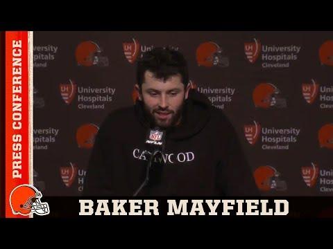 Baker Mayfield Postgame Press Conference vs.Bengals | Cleveland Browns