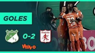 Cali vs. América (0-2) | Liga BetPlay Dimayor 2021 1 - Fecha 12