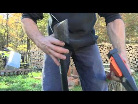 Fiskars x27 Husqvarna S2800 and Stihl pro splitting axe
