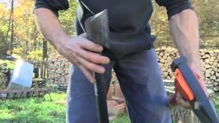 Fiskars x27 Husqvarna S2800 and Stihl pro splitting axe