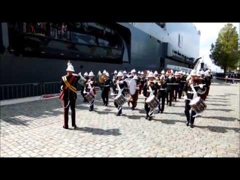 H.M. Royal Marines Band CTCRM 09-05-2013 part 1