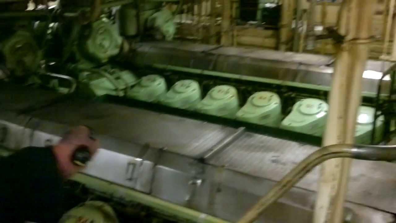 Cruise Ship Engine Room - M/S Viking Gabriella - Huge