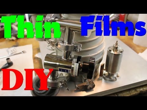 High Vacuum Chamber for THIN FILM DEPOSITION Build