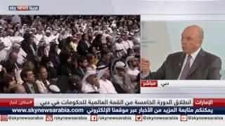 لقاء مع رئيس مجلس الأعيان الأردني