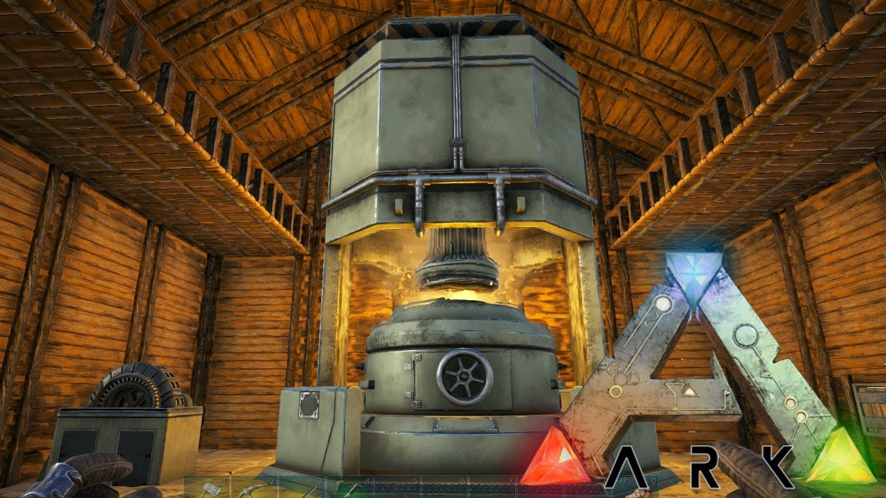 25 the industrial forge ark survival evolved youtube. Black Bedroom Furniture Sets. Home Design Ideas