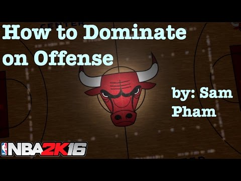 NBA 2K16 Tips : Best offense to break defense : How to Play with Chicago Bulls : Tutorial #27