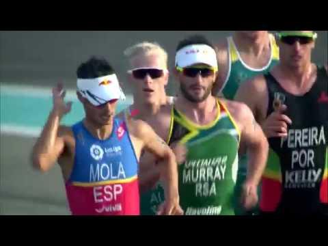 2017 World Triathlon Abu Dhabi - Resúmen de la carrera masculina