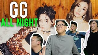 "Download Video Partying ""ALL NIGHT"" with GIRLS' GENERATION (CLEAN MV Reaction x3) MP3 3GP MP4"