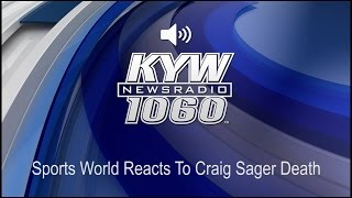 Sports World Reacts To Craig Sager Death (Audio)