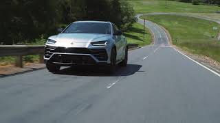 Lamborghini Urus with Akrapovic Exhaust