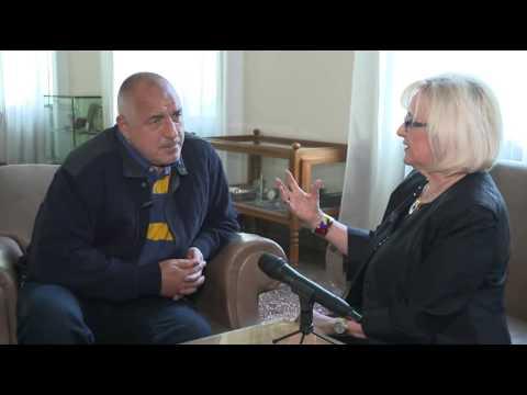Бойко Борисов в интервю пред Мира Аданя-Полак за Радио-телевизия Сърбия